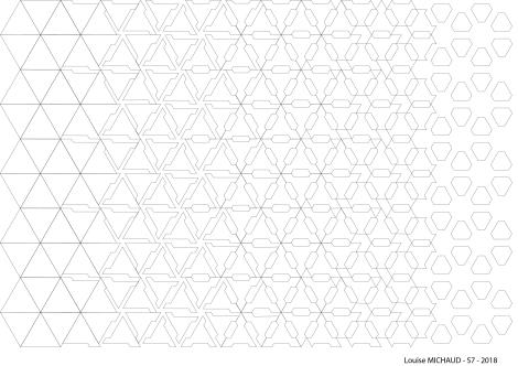 Trame géométrie Louise Michaud